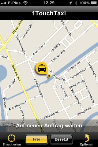 Taxifahrer App